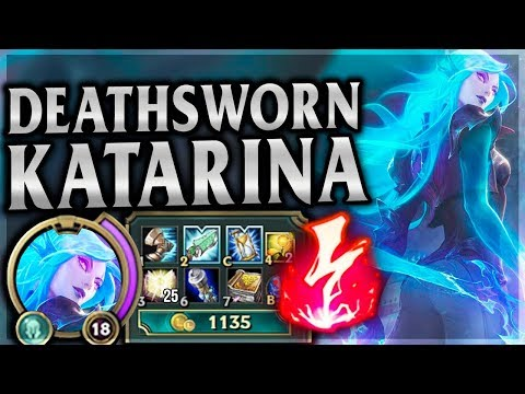 ELECTROCUTE  KAT = EASY FAST FULLY STACKED! Death Sworn Katarina Mid League of Legends Commentary