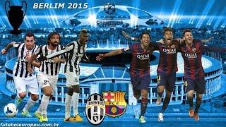 barcelona x juventus final liga dos campees da europa