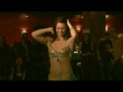 Rahel Bellydancing at VFS Impact Awards 2010