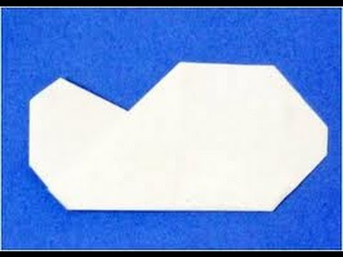 How To Make An Origami Cloud HD