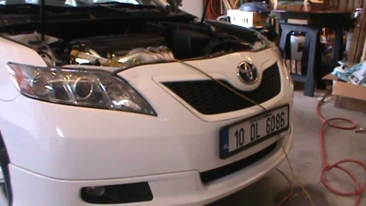 2007 Camry Serpentine Belt Rep - 4 Cyl, 2.4 liter engine - YouTube