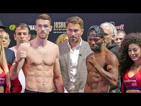 Joshua vs. Ruiz FULL UNDERCARD WEIGH IN | Matchroom Boxing USA