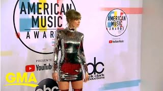 Taylor Swift battles with former record company over playing her old music | GMA