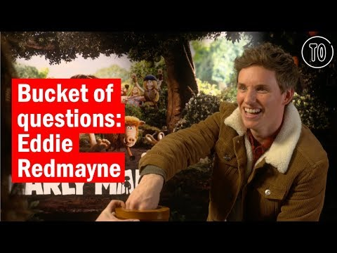 Bucket of questions: Eddie Redmayne  Celebrity s  Time Out