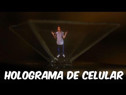 Faça um holograma para CELULAR (muito FÁCIL!)