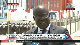 Rais Uhuru Kenyatta azindua awamu ya pili ya SGR, Suswa