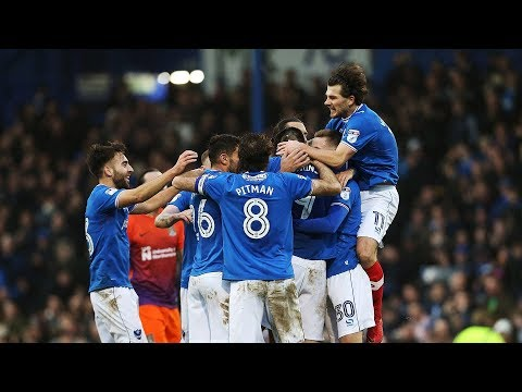 Highlights: Portsmouth 3-1 Northampton Town
