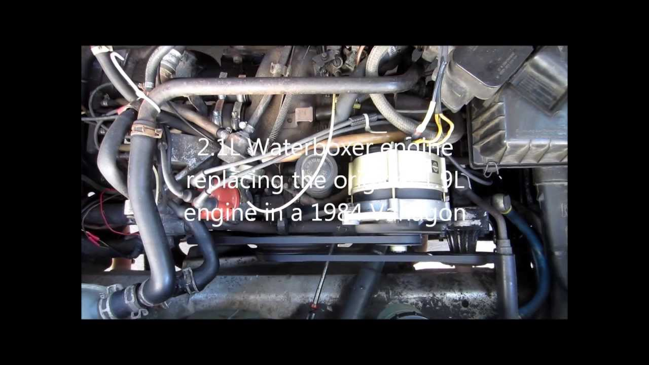 Waterboxer Engine Diagram Wiring Will Be A Thing Vw Vanagon 2 1l Youtube Rh Com Subaru Swap