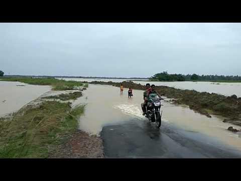 Flood at Ghatal