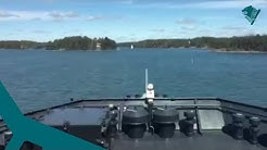 Vartiolaiva Uisko - Barösundin väylän ajo