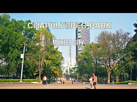 The Largest Urban Park In Latin America! (Mexico City)