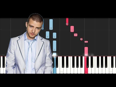 Justin Timberlake ft Chris Stapleton - Say Something (Piano Tutorial)