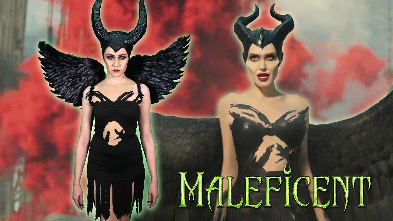 Diy Maleficent Mistress Of Evil Halloween Costume Lucykiins