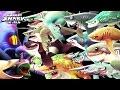 Hungry Shark World - All Sharks vs Colossal Squid BOSS🦑🦑🦑