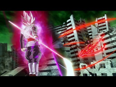 Rose Goku Black vs SSJ4 Goku! Super vs GT - Dragon Ball Xenoverse 2