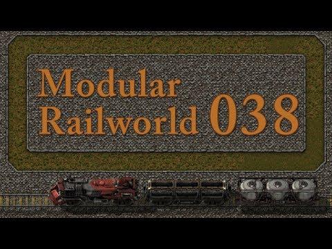 Factorio Modular Railworld #38 - A Bee Line through the Coal Patch