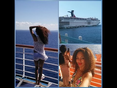 My Carnival Sensation Cruise to Jamaica/Cayman Islands 4/25/16