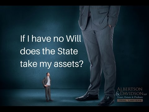 Top 10 Trust and Will Myths: Episode 6 Does the State take my assets if I die without a Will?