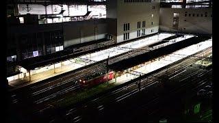 HD【終電後の仙台駅を発車するED75 + ロンチキ】東北本線(仙台)2019.4.9