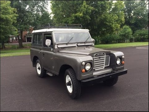 20 300 1965 land rover 11a 88 series for sale youtube for Garage land rover nancy