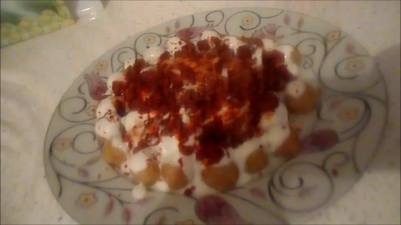 Yoğurtlu Bulgur Köftesi Nasıl Yapılır Tarifi Videosu