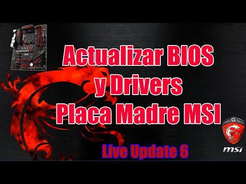 Cómo Actualizar BIOS Y Drivers De Placa Madre MSI De Forma Automática | Tutorial Live Update 6