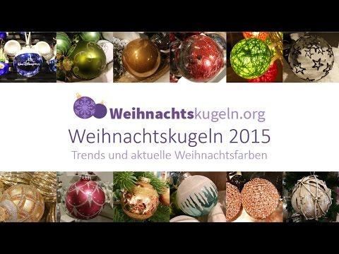 Weihnachtskugeln Trends 2015 - Tipps für Weihnachtsdeko