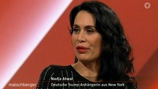 Die AfD-Wähler sind die gleichen, wie die Trump-Wähler 09.11.2016 Maischberger - Bananenrepublik