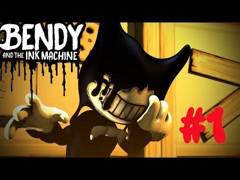 Бенди и чернильная машина Bendy And The Ink Machine  Chapter ПОЛНОЕ ПРОХОЖДЕНИЕ 1 СЕРИЯ ИЗ 2