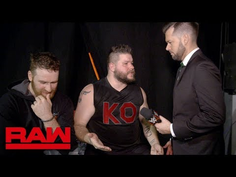 Kevin Owens and Sami Zayn demand accessories from Mike Rome: Raw Exclusive, May 14, 2018