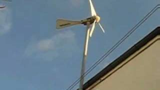 My Windsave house mounted wind turbine.....