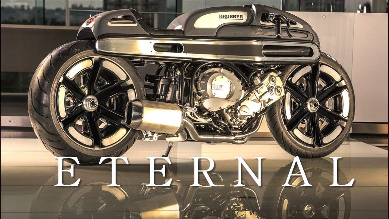 画像: Cafe Racer (BMW K1600 by Krugger Motorcycles) www.youtube.com