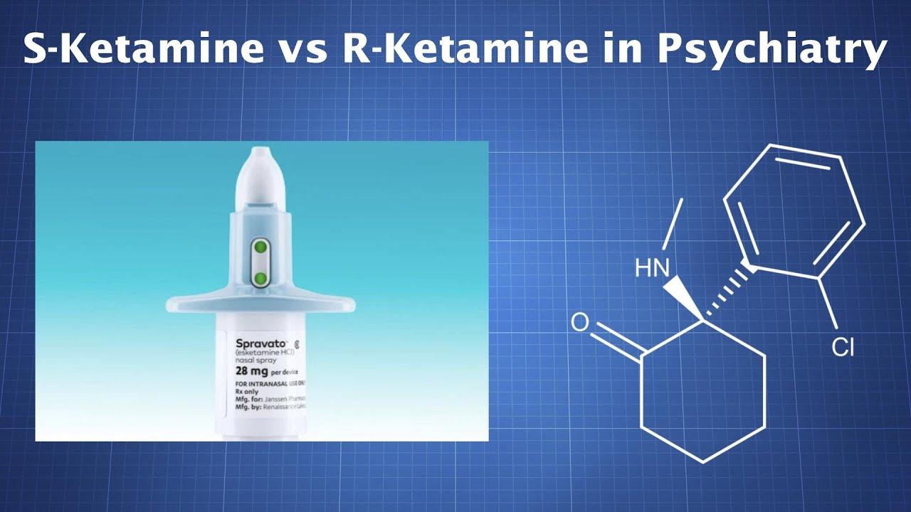 Ketamine in Psychiatry: S-Ketamine vs. R-Ketamine