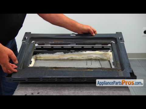 Oven/Microwave Combo Rear Oven Door Glass (WP4449259)-How To Replace