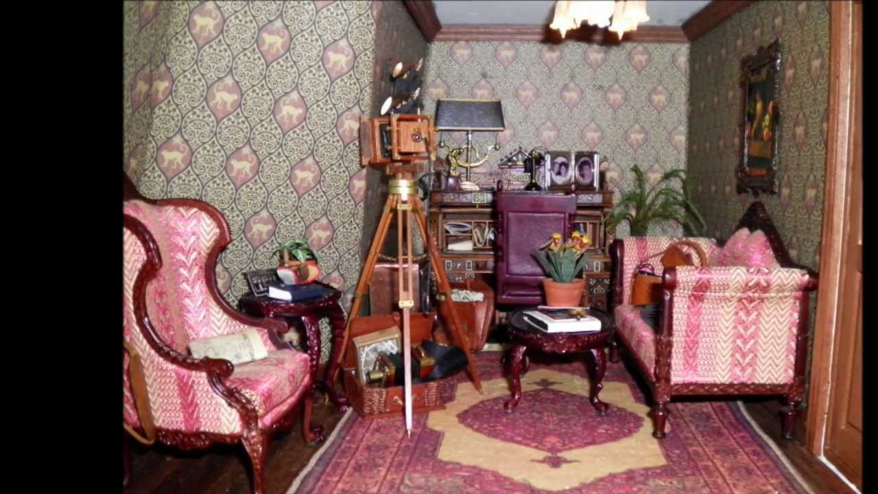 Victorian Dollhouse Part 2 Youtube