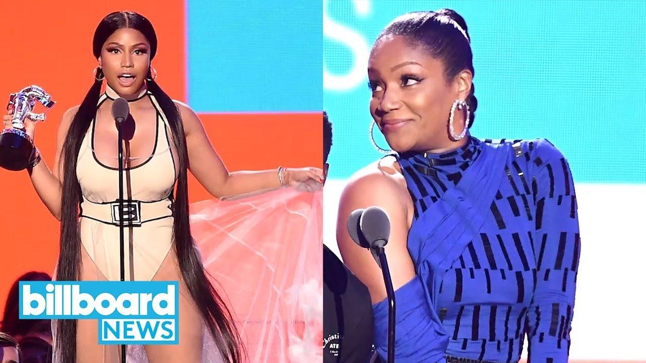 Nicki Minaj Throws Shade at Tiffany Haddish After Fifth Harmony Diss |  Billboard News