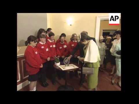 UK: JAPANESE EMPEROR AKIHITO & EMPRESS MICHIKO VISIT: LAST DAY