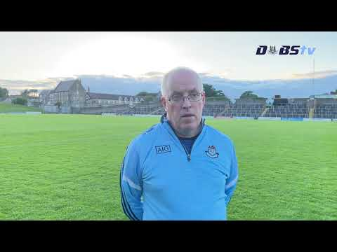 Dublin U20s manager Tom Gray chats to DubsTV after win over Meath
