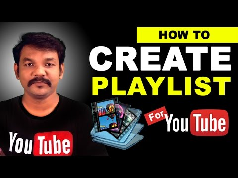 How To Create a Playlist on Your Youtube Channel in Tamil