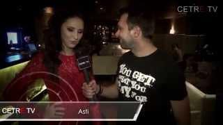 Ханна в сюжете с презентации клипа Artik&Asti