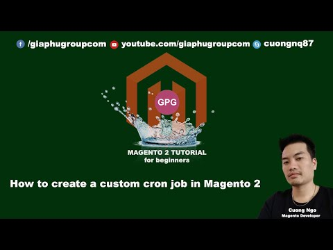 How to create a custom cron job in Magento 2