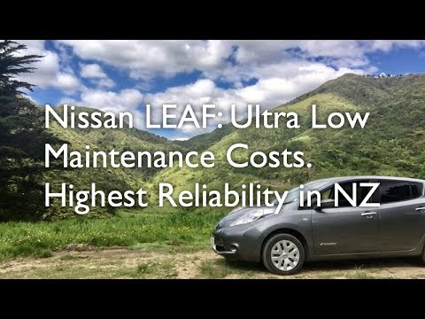 nissan leaf ultra low maintenance costs consumer most reliable car youtube. Black Bedroom Furniture Sets. Home Design Ideas