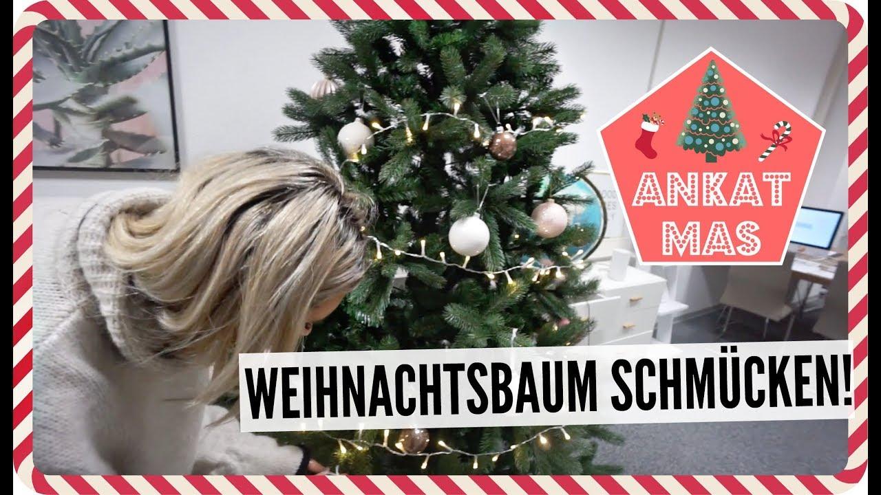 weihnachtsbaum schm cken ankatmas youtube. Black Bedroom Furniture Sets. Home Design Ideas