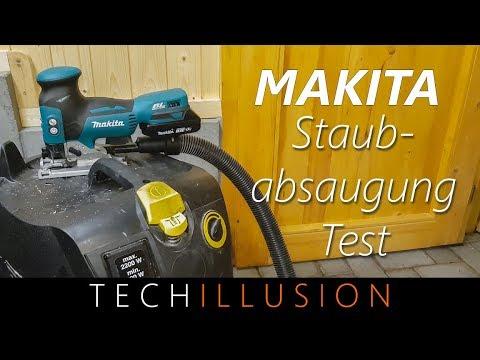 🛠makita-akku-stichsÄge---staubabsaugung-für-makita-djv181---test-&-montage