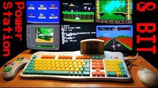 Dendy клавиатура. Часть 2 обучающие игры.