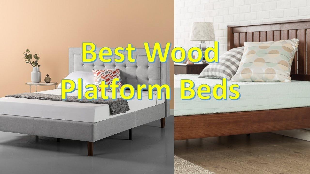 Best wood platform beds 2018 top 10 best platform bed