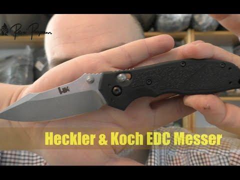 Heckler & Koch EDC Messer Vorstellung