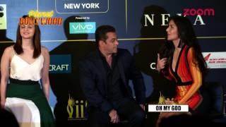Salman Khan Turns Concerned For Katrina Kaif's Dress & How? | Bollywood News