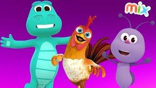 Juguemos en el Bosque + enganchado de los mejores videos musicales infantiles | El Reino infantil