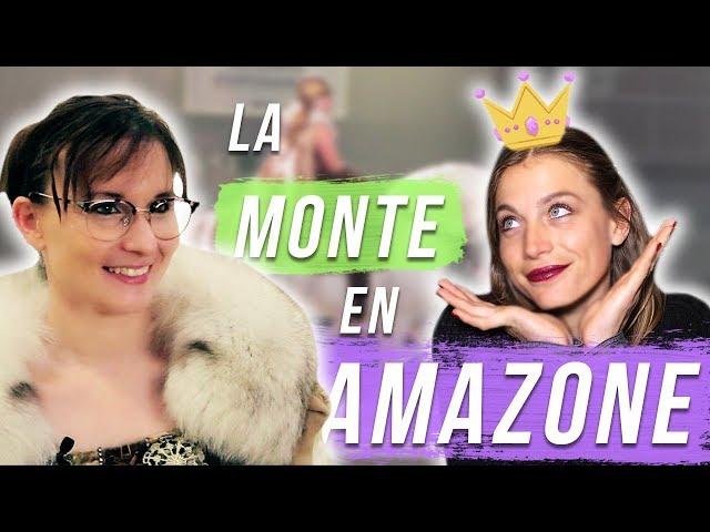 MONTE EN AMAZONE - Etre une princesse Disney dans la vraie vie ?!